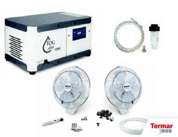 Kit vento nebulizzatori professionali termar3000
