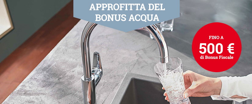Soluzioni Bonus Acqua Potabile